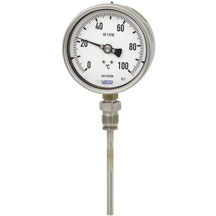 机械电子气包式温度计