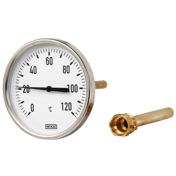 机械电子双金属温度计